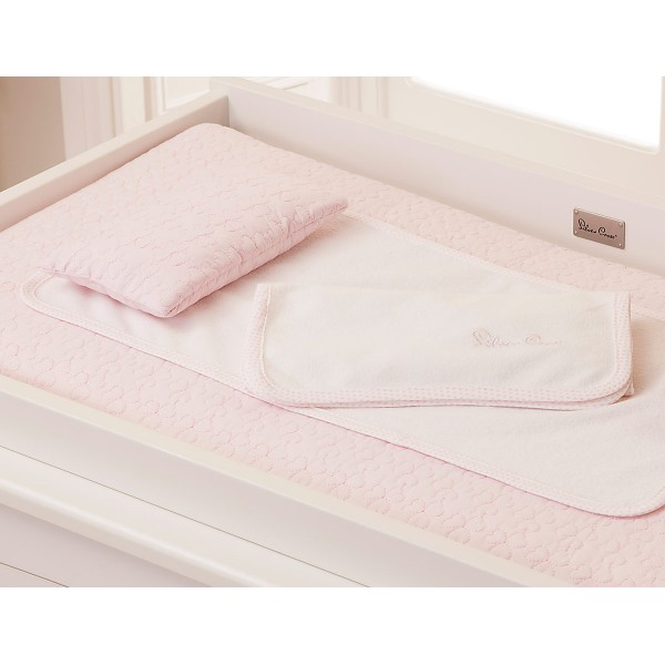 Silver Cross Luxury Changing Mattress - Vintage Pink