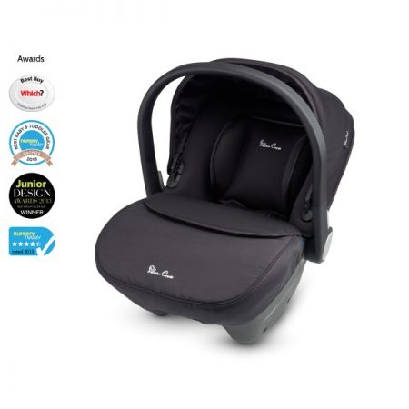 Simplicity Car Seat Black by Silver Cross