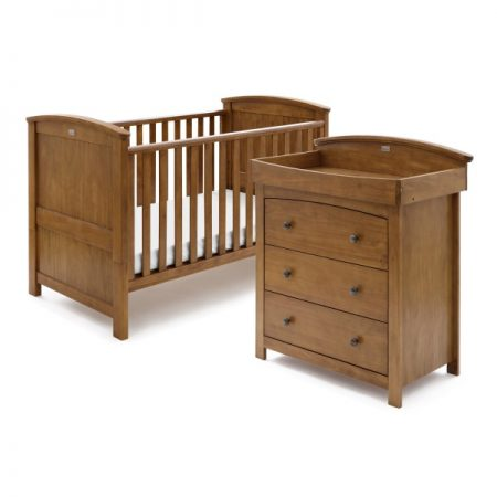Ashby Cot Bed and Dresser Set by Silver Cross