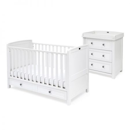 Nostalgia Cot Bed and Dresser Set