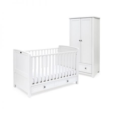 Nostalgia Cot Bed and Wardrobe Set