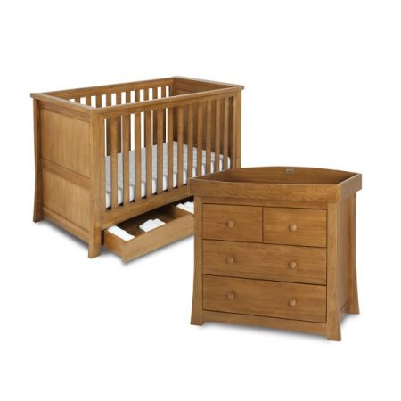 Canterbury Cot Bed and Dresser Set