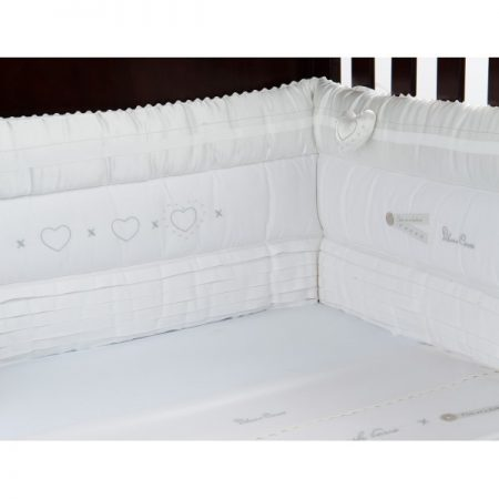 Luxury Cot Bumper Handmade With Love