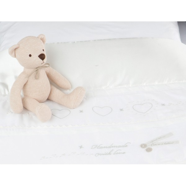 Luxury Cot and Cot Bed Quilt Handmade With Love