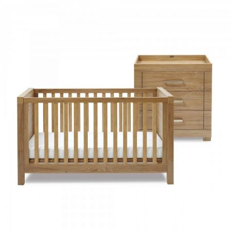 Portobello Cot Bed & Dresser Set by Silver Cross