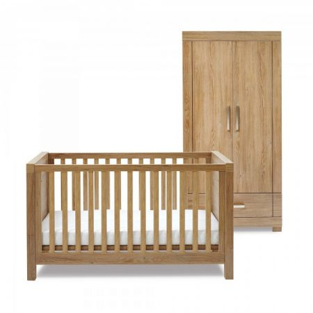 Portobello Cot Bed & Wardrobe Set by Silver Cross