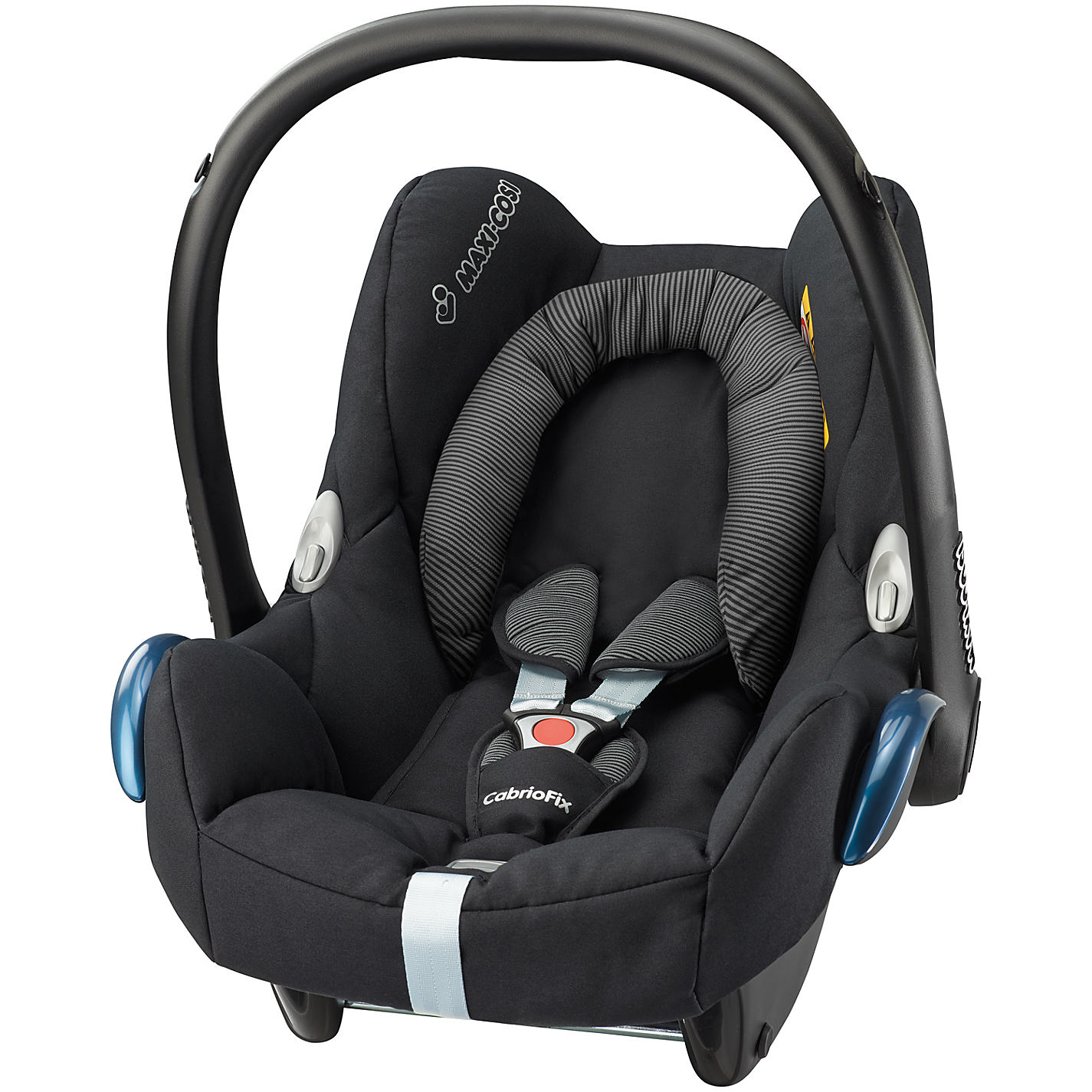 bugaboo cameleon3 with maxi cosi cabriofix car seat in alu black. Black Bedroom Furniture Sets. Home Design Ideas