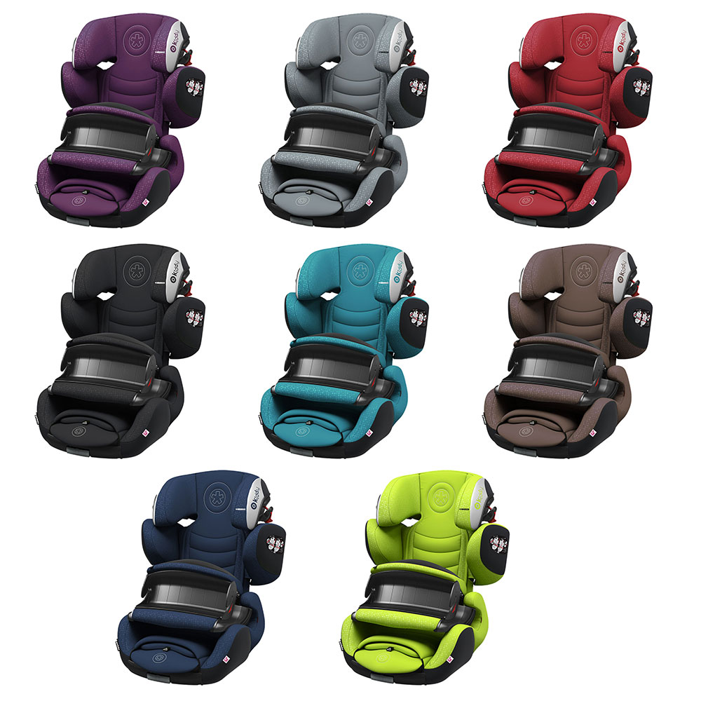 Kiddy Guardianfix 3 Lime Green 9 Months to 12 Years Isofix Car Seat