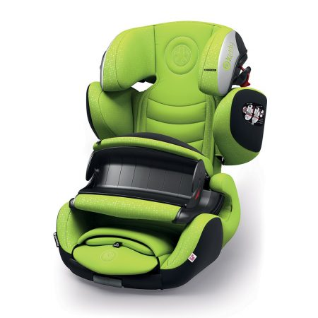 Kiddy GuardianFix pro 3 isofix child car seat Lime 9 months 12 years