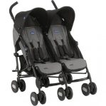 Chicco Echo Twin Double Pushchair From Birth Inc Raincover
