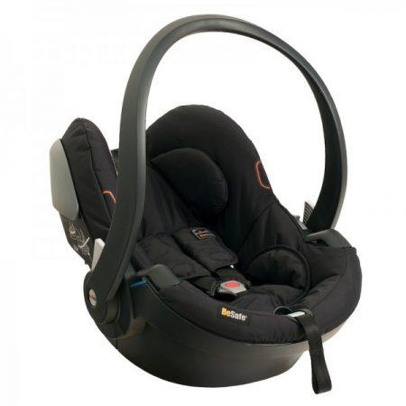 BeSafe iZi Go Car Seat Black Cab Baby Carrier From Birth