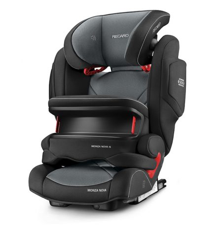 Recaro Monza Nova IS Seatfix Carbon Black Impact Shield