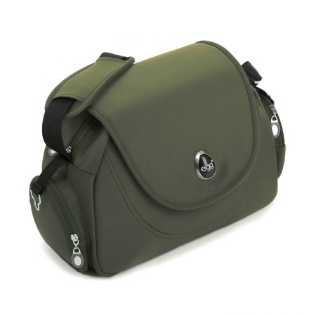 egg changing bag forest green