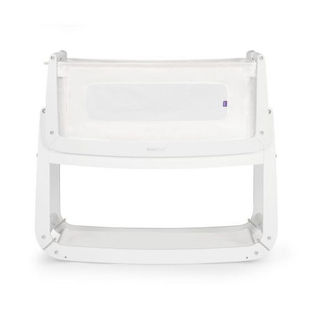 Snüzpod 3 Bedside Crib with mattress - White
