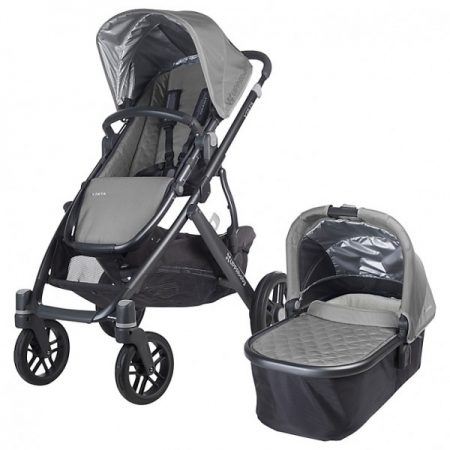 Uppababy Vista 2015 Pushchair & Carrycot Pascal Grey
