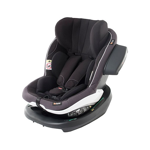BeSafe iZi Modular i-Size Group 1 Car Seat, Black Cab, + Isofix Base Package