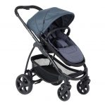 icandy strawberry slate black or chrome pushchair