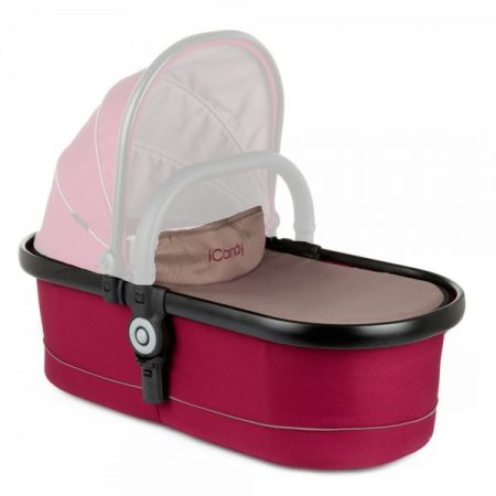 ICANDY PEACH 2016 MAIN CARRYCOT - CLARET