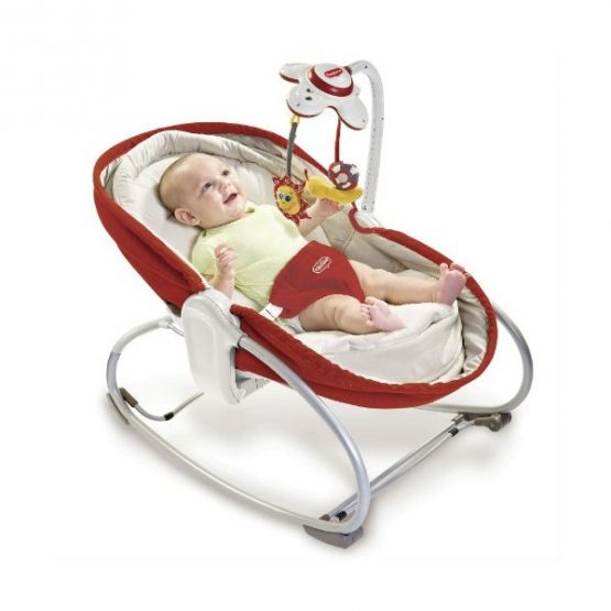 Tiny Love 3 in 1 Rocking Vibrating Bouncy Chair/Moses basket 0-18kgs