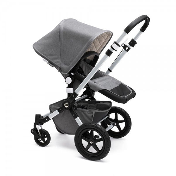 Bugaboo Cameleon3 Classic+ Pushchair Package Grey Melange
