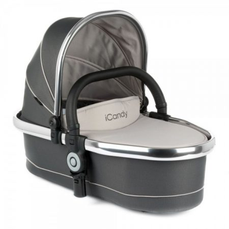 iCandy Peach Twin Carrycot Truffle 2