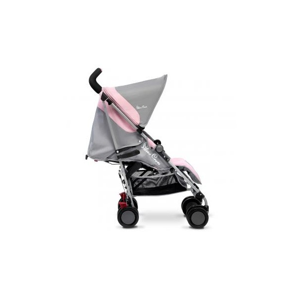 Silver Cross Pop Pushchair in Pink Grey From Birth