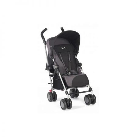 NEW SILVER CROSS POP 2 PUSHCHAIR BLACK/GREY