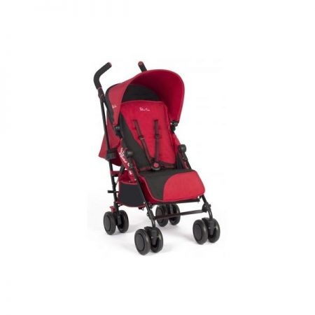 NEW SILVER CROSS POP 2 PUSHCHAIR CHILLI/BLACK