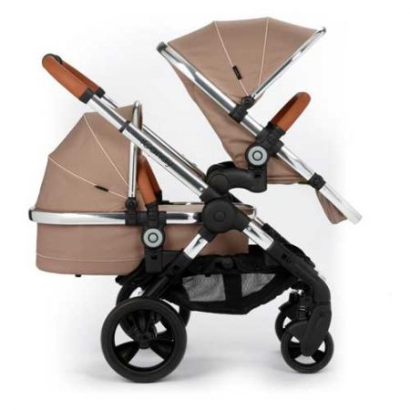 icandy peach butterscotch duo carrycot and seat unit