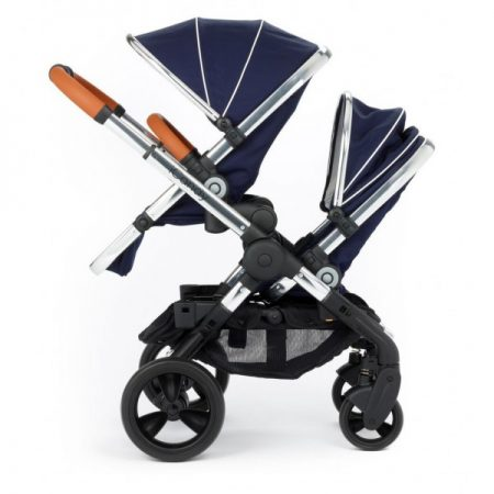 iCandy Peach Blossom Twin + 2 Twin Carrycots Royal