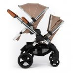 iCandy Peach Blossom Twin + 2 Twin Carrycots Butterscotch