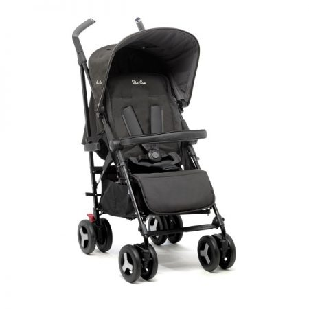 New Silver Cross Reflex Pushchair Black