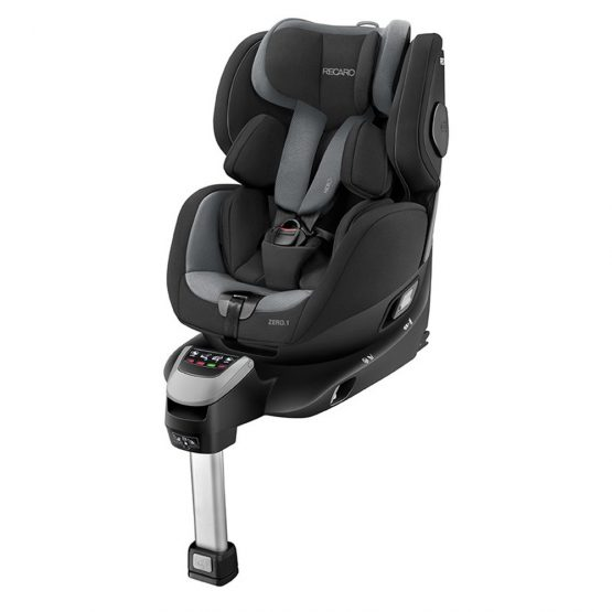 recaro zero 1 car seat carbon black extended rearward facing