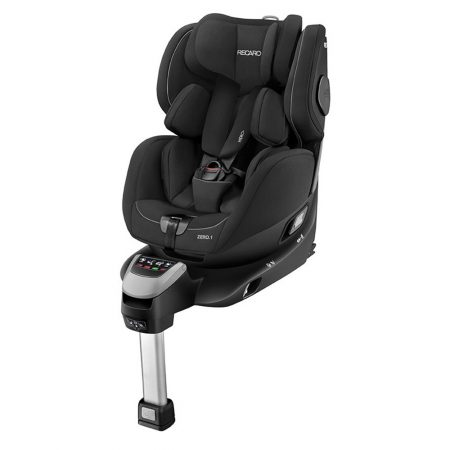 recaro zero 1 car seat performance black extended rearward facing