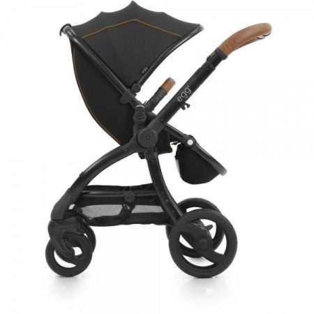 Egg Stroller Espresso with Black Chassis Includes Seat Liner