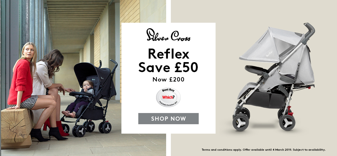 Web banner - REFLEX Save 50 Affordable Baby
