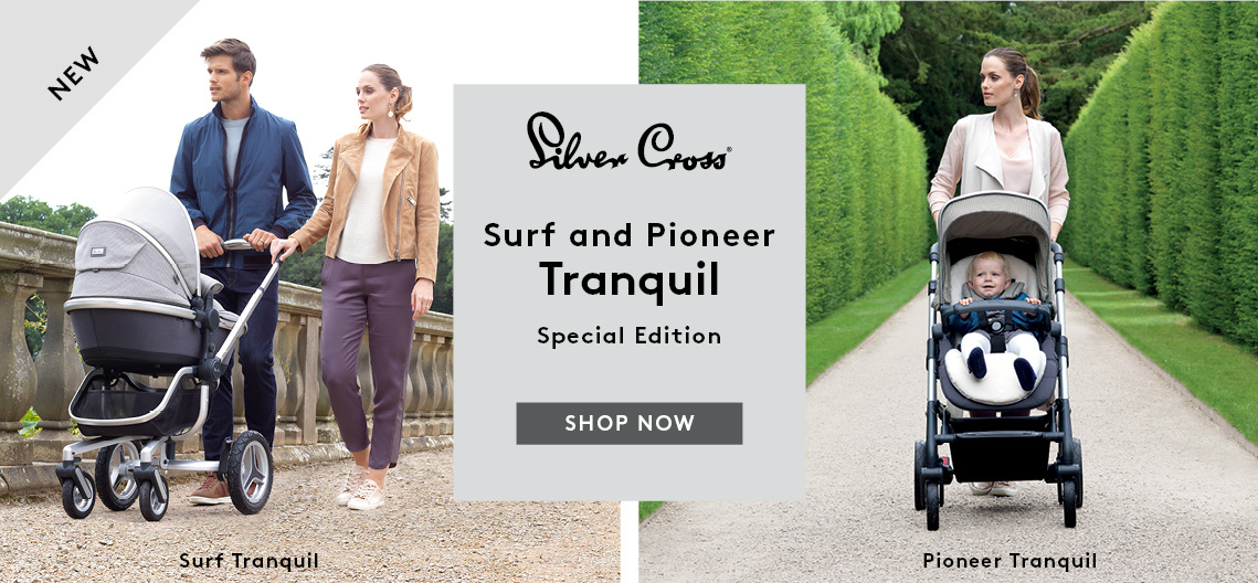 Silver Cross Surf and Pioneer Tranquil