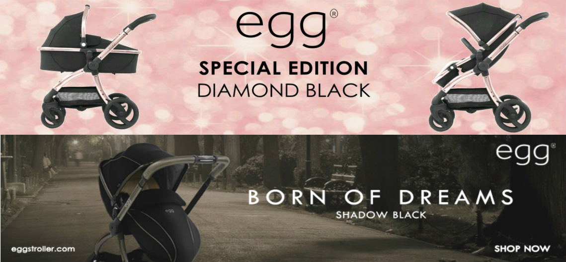 Egg Special edition diamond black