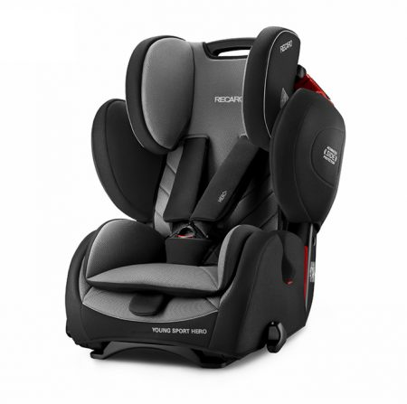 Recaro young sport hero Carbon Black car seat 9 months - 12 years group 123