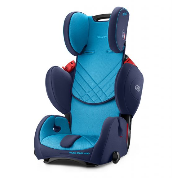 Recaro young sport hero car seat 4 - 12 years group 2 3