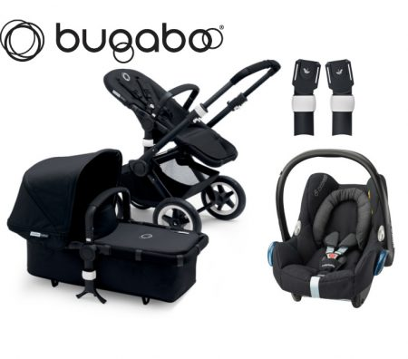 bugaboo buffalo black black package