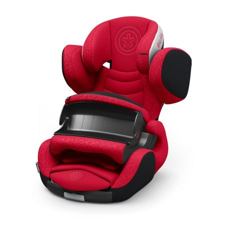 Kiddy PhoenixFix 3 Isofix Child Car Seat in Chilli Red
