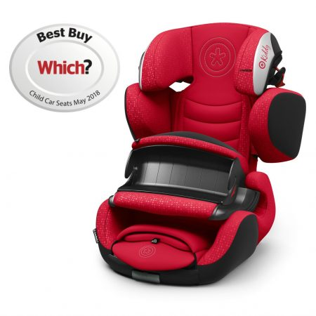 Kiddy Guardianfix 3 Chilli Red 9 Months to 12 Years Isofix Car Seat