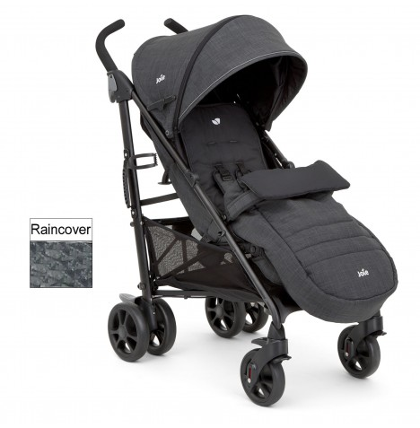 joie Brisk Pavement grey pushchair buggy stroller from birth