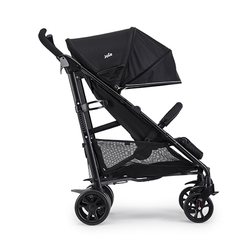 joie brisk lx pushchair uni black recline function 0-3 years