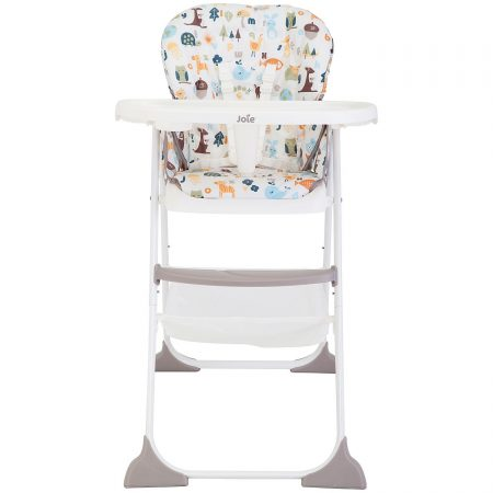 joie mimzy snacker high chair in alphabet