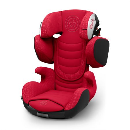 Kiddy Cruiserfix 3 Chilli Red Isofix Group 2 & 3 Child Car Seat 4 to 12 Years