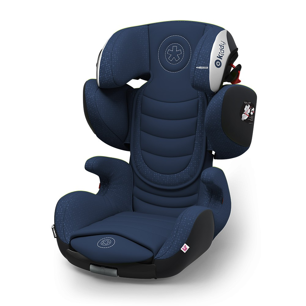 Kiddy Cruiserfix 3 Mountain Blue Isofix Group 2 & 3 Child Car Seat 4 to 12 Years