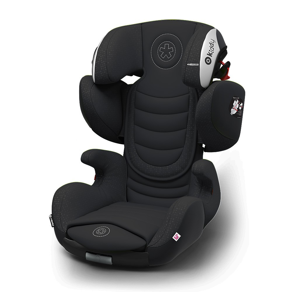 Kiddy Cruiserfix 3 Mystic Black Isofix Group 2 & 3 Child Car Seat 4 to 12 Years