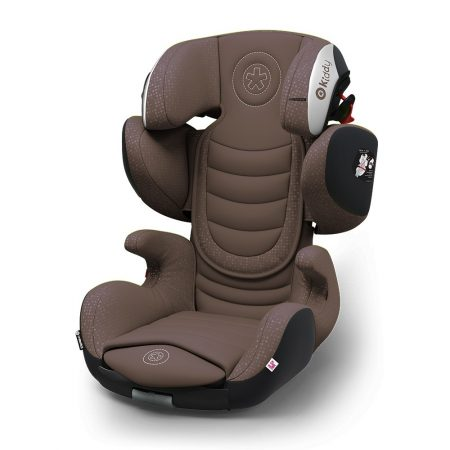 Kiddy GuardianFix pro 3 isofix child car seat Brown 9 months 12 years